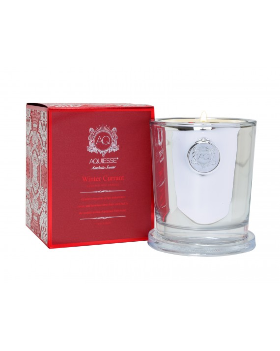 WINTER CURRANT~Large Candle in Gift Box