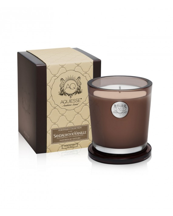 SANDALWOOD VANILLE~Large Soy Candle/Gift Box