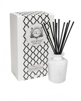 WHITE CURRANT & ROSE~Apothecary Reed Diffuser Gift Set