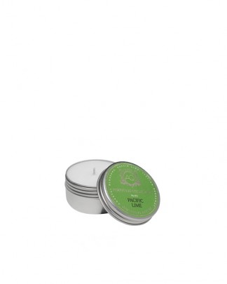 PACIFIC LIME~Soy Travel Tin Candle
