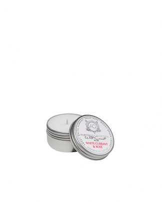 WHITE CURRANT & ROSE~Soy Travel Tin Candle