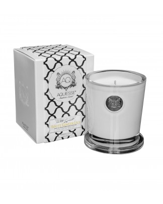 WHITE GINGER LILY~Large Soy Candle/Gift Box