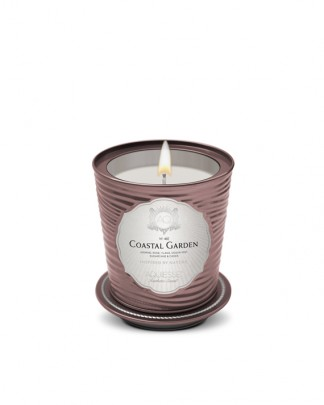 COASTAL GARDEN~Luxe Tin Candle