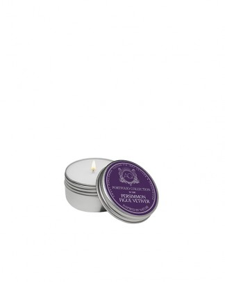 PERSIMMON FIGUE VETIVER~Soy Travel Tin Candle