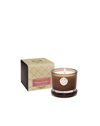POMEGRANATE SAGE~Small Soy Boxed Candle