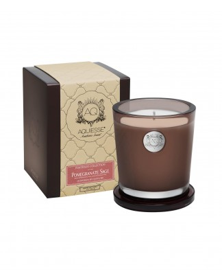 POMEGRANATE SAGE~Large Soy Candle/Gift Box