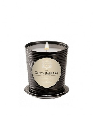 SANTA BARBARA~LUXE Tin Candle