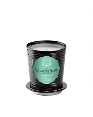 SUGARCANE SHORE ~ Luxe Tin Candle