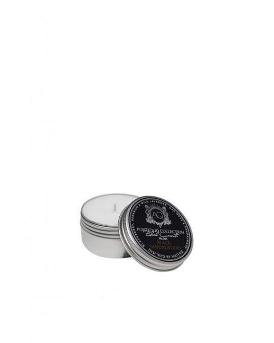 BLACK SANDALWOOD~Soy Travel Tin Candle
