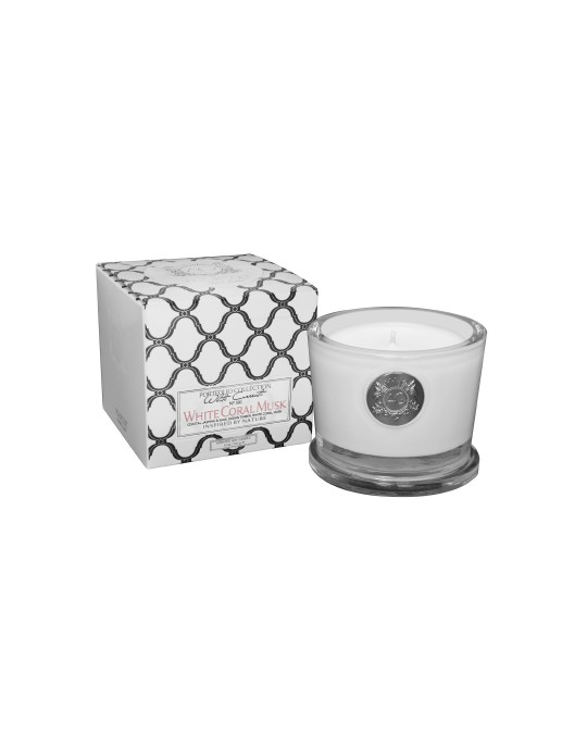 WHITE CORAL MUSK~Small Soy Candle/Gift Box