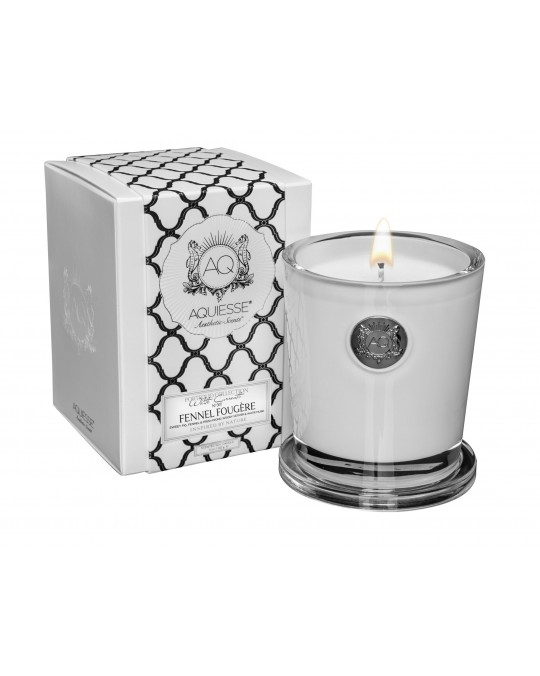 FENNEL FOUGERE~Large Soy Candle/Gift Box