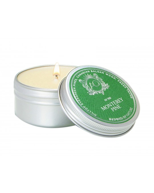 MONTEREY PINE ~ Soy Travel Tin Candle