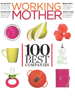 Aquiesse in Working Mother magazine